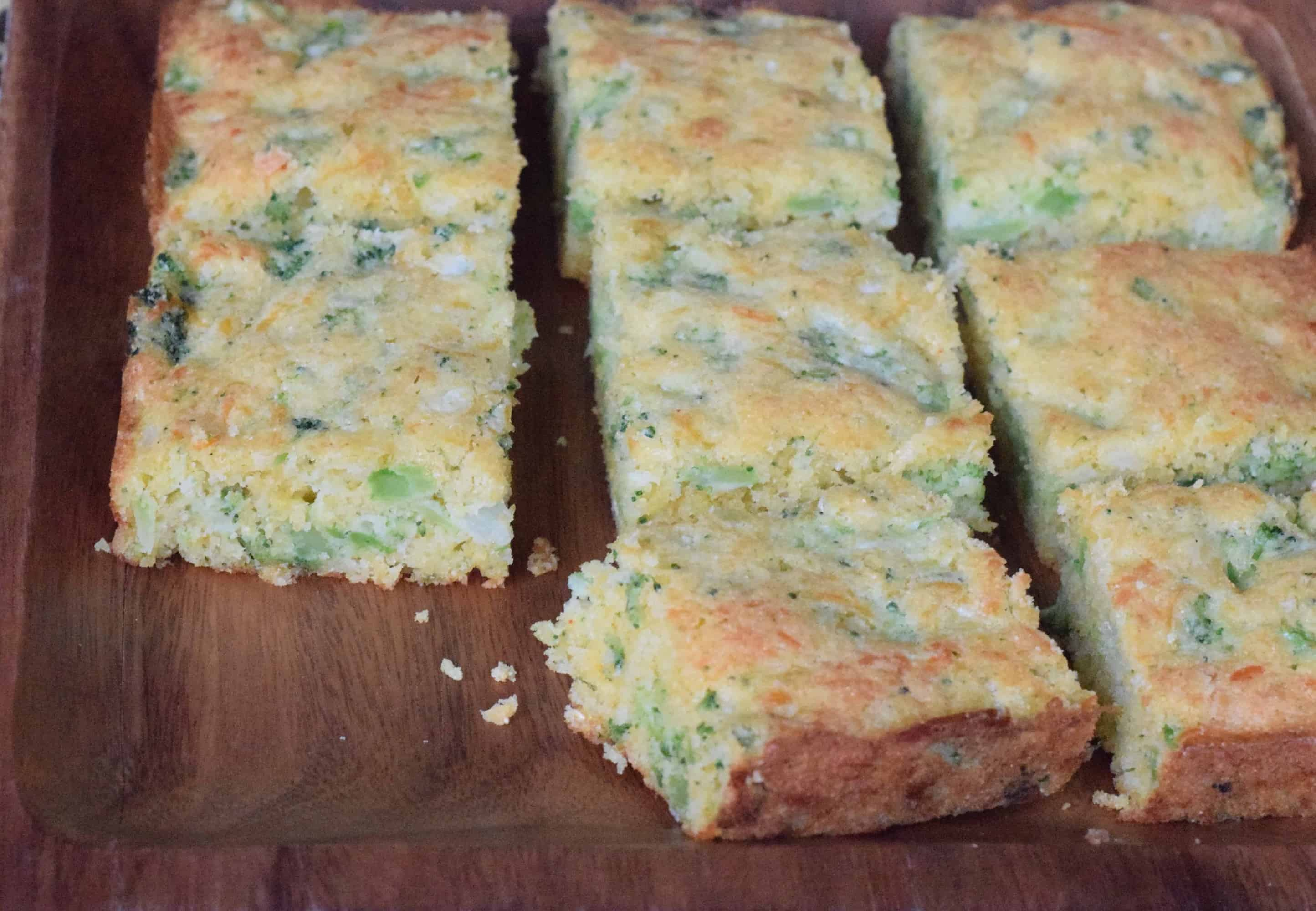 Broccoli Cheese Cornbread 1