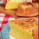 Pinterest pin for Vidalia onion cornbread
