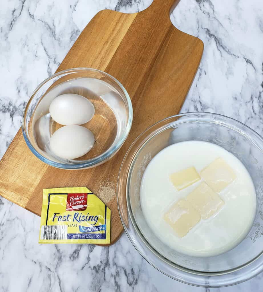 Butter milk eggs fast yeast how to picture