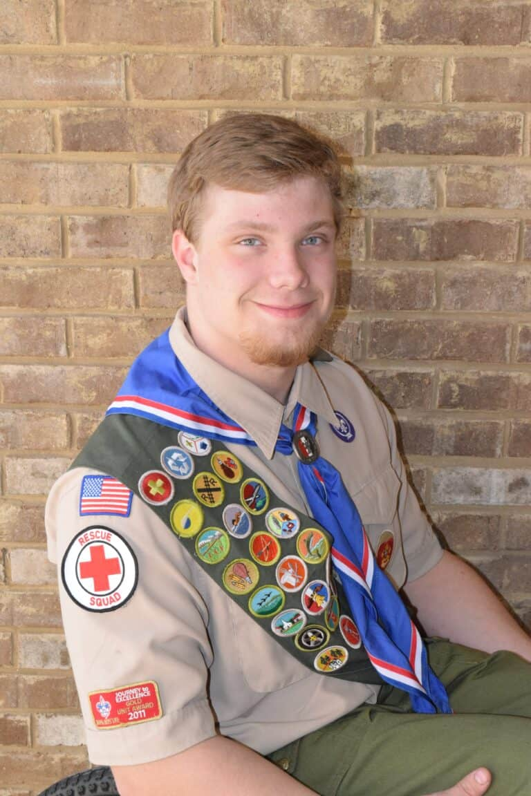 Eagle Scout portrait