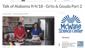 Talk of Alabama Kathleen Phillips with Nicole Allshouse making Bacon Wrapped Cheesy Tater Tots Part 1