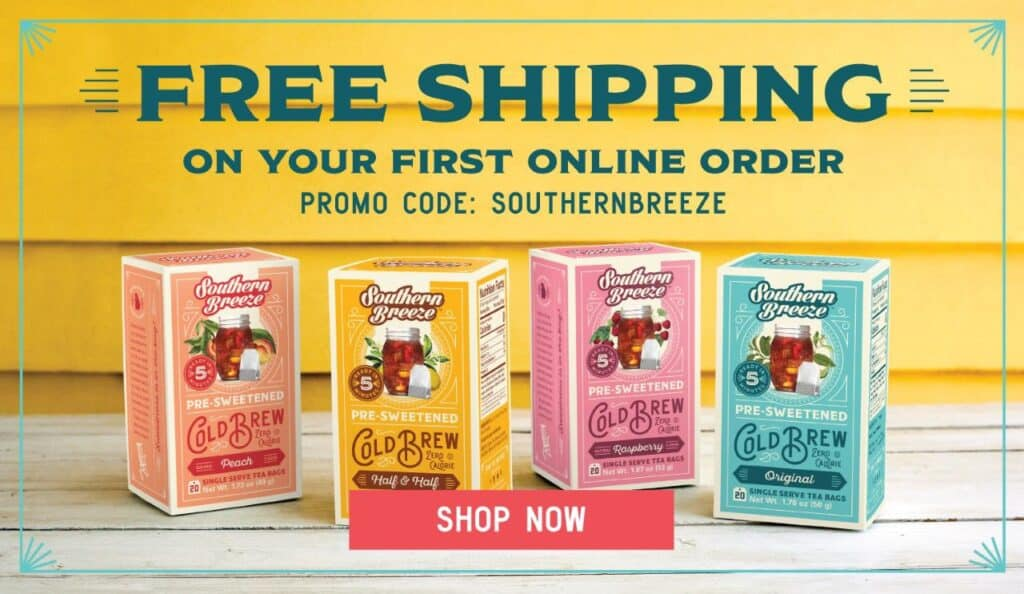 Promo Code for Southern Breeze Sweet Tea
