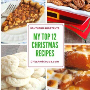 top 12 Christmas recipe round up