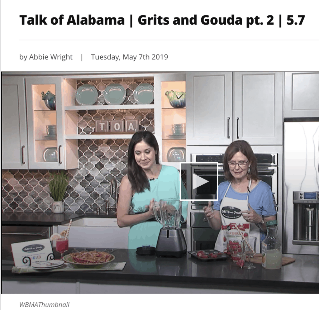 How to make Frozen Strawberry Lemonade on Talk of Alabama with Nicole Allshouse