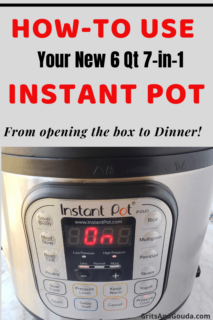 Pinterest post for how to guide to Instant Pot