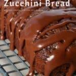 chocolate zucchini bread pinterest image