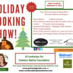 Grits and Gouda Holiday Cooking Show flyer 2019