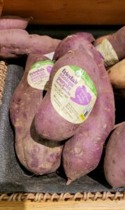 Frieda's Specialty produce Stokes purple sweet potatoes