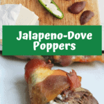 Pinterest pin for Jalapeno Dove Poppers