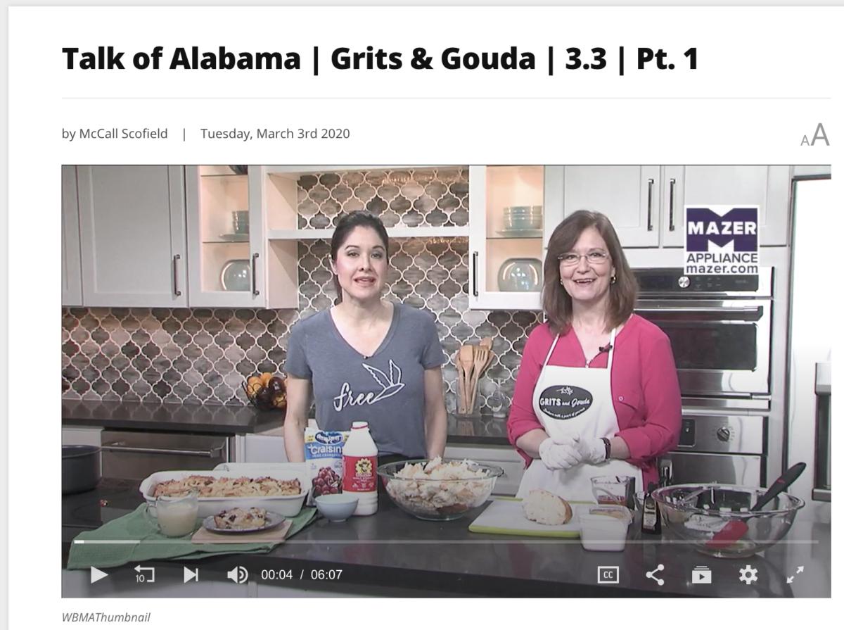nicole allshouse kathleen phillips in kitchen bread pudding