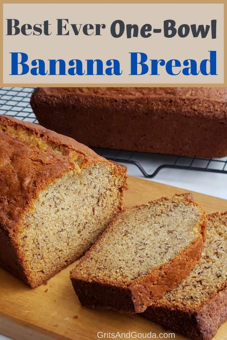Pinterest banana bread pin