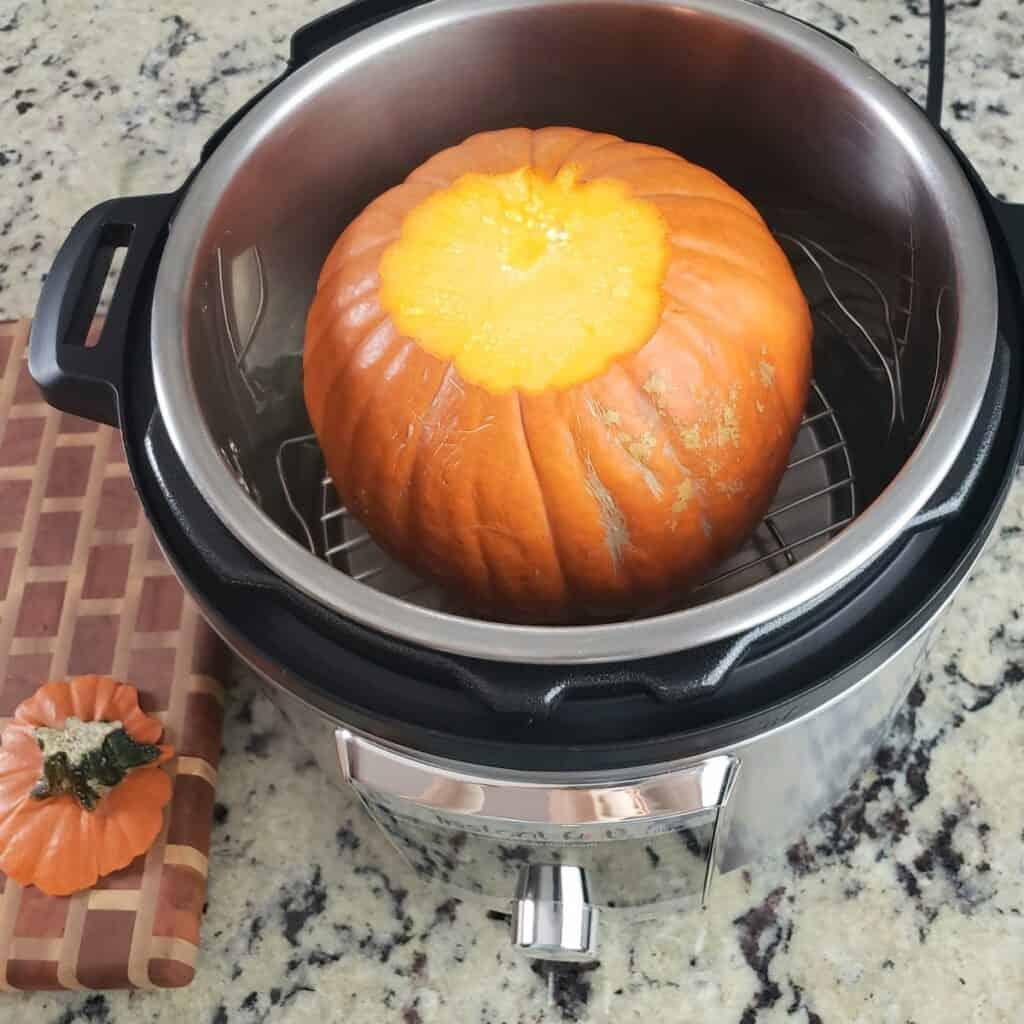 Pumpkin in Instant Pot