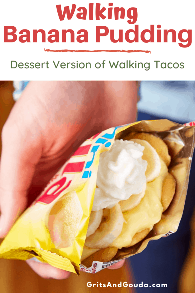 Pinterest pin for Walking Banana Pudding
